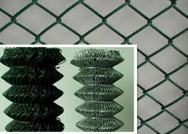8 Foot Residential Chain Link Fence Portable Protective Mild Steel Galvanized Iron Wire Fence