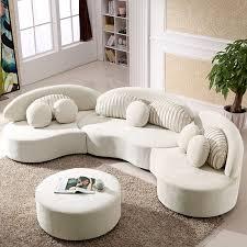 modern 7 seat modular sofa round