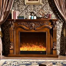 antique furniture led flame 3d effect