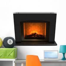 Warm Fireplace Wall Decal Wallmonkeys Com
