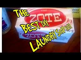 best diy zote laundry detergent soap