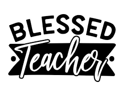 Blessed Teacher Vinyl Decal Car Decal Laptop Decal Etsy