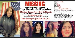 Butte County Sheriff's Office actively searching for missing Oroville teen