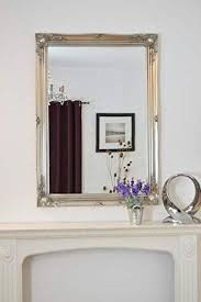 shabby chic antique style mirror