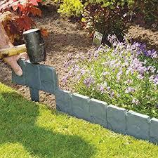 plastic foldable garden edging