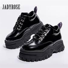 jady rose black patent leather women