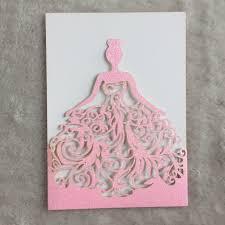 25 Tarjetas De Invitacion De Cumpleanos De Princesa De Papel