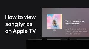 How to see perfectly timed lyrics in Apple Music on your Apple TV – Apple  Support - YouTube