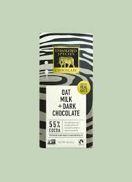 oat milk chocolate bars