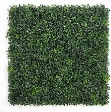 Amazon Com Artificial Boxwood Hedges Panels 20 X 20 Faux Plant Ivy Fence Wall Cover Outdoor Privacy Fence Screening Garden Decoration 6 Pcs Size 10pcs Garden Outdoor