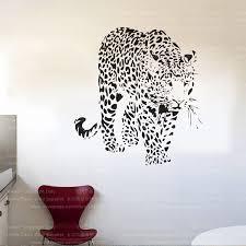 4093 New Design Leopard Large Wild Animal Wall Sticker Tiger Wall Decal Art Mural Home Decor Free Shipping Home Decor Decoration Designtiger Wall Decal Aliexpress