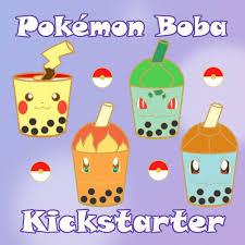 Pokémon Bubble Tea Kickstarter - link in comments! : pinprojects
