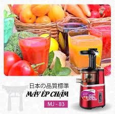 Máy ép chậm Mutosi MJ-83 - Máy ép trái cây, rau củ, hoa quả - Giữ ...