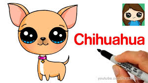 How to Draw a Chihuahua Easy - YouTube