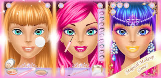 games like makeup salon for android