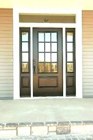 front entry door with transom