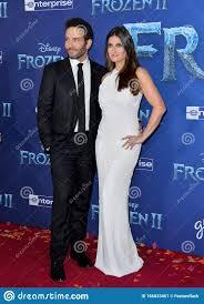 Idina Menzel & Aaron Lohr editorial photo. Image of frozen - 166033461