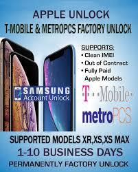 unlock iphone t mobile metropcs usa