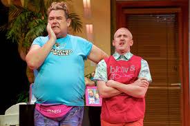 Tony Maudsley 'Kenneth' and Adam Gillen 'Liam' LR - Leeds Guide