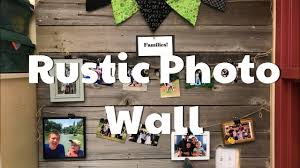 Rustic Accent Wall From Recycled Fence Boards Youtube