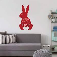 Rabbit Wall Decor Keep Vinyl Decor Wall Decal Customvinyldecor Com