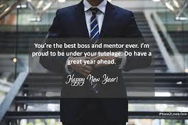 best mentor and boss new year wishes happy new year quotes