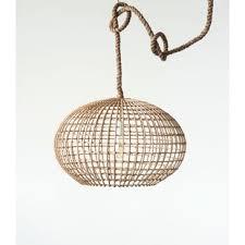 wicker rattan pendant light wayfair