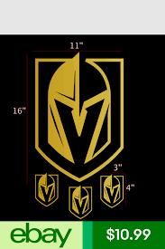 Golden Knights Las Vegas Logo Vinyl Sticker Car Laptop Room Window Decal Nhl Vinyl Sticker Window Decals Car Stickers