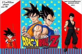 Dragon Ball Z Invitaciones Para Imprimir Gratis Invitaciones