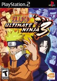 Naruto Ultimate Ninja 3 PlayStation 2 Game For Sale