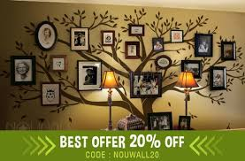 Wall Decal Family Tree Wall Decal Living Room Wall Decals Etsy