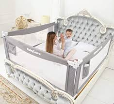 Amazon Com Babyguard Bed Rails For Toddlers Extra Long And Tall Baby Bed Rail Guard For Baby Kids Child Infants Guard For Kids Twin Double Full Size Queen King Mattress 54 L