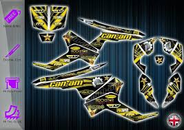 Can Am Renegade Stickers Graphics Kit Decals Canam Renegade Atv Graphics Kit In 2020 Can Am Sticker Kits Renegade