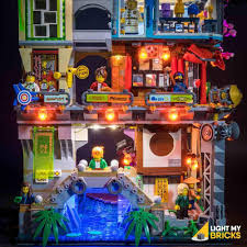 Ninjago City 70620 Lighting Kit (LEGO SET NOT INCLUDED) BY LIGHT MY BR –  BrickVibe