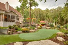 backyard putting greens neave group ny