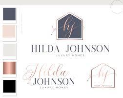 Hilda Johnson Logo Package • Macarons and Mimosas