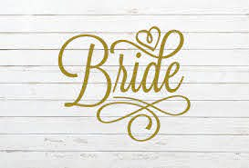 Bride Decal Bride Sticker Wedding Decal Bride To Be Decal Bridal Shower Gift Bride Tumbler Bride Car Deca Wedding Decal Bride Tumbler Bridal Shower Gifts
