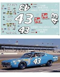 Richard Petty 43 Plymouth 1967 70 1 64 Scale Decal Afx Tyco Lifelike Autoworld 3 99 Picclick