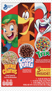 trix nutrition facts label cocoa puffs