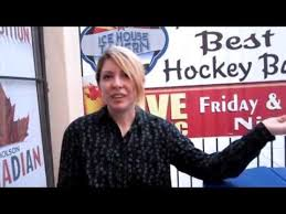 Jessie Johnson and Comedy on Ice at The Ice House Tavern - YouTube
