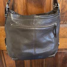 coach bags large brown leather purse