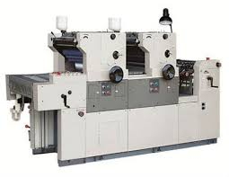 two 2 colour offset printing machine in