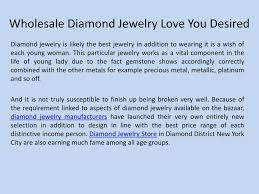 ppt whole diamond jewelry love