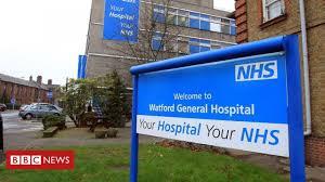 Watford General Hospital tells people ...