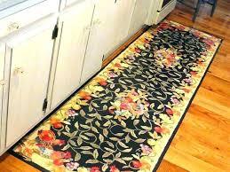 kitchen runner rugs washable