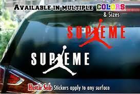 Nike Jordan Logo Sticker Car Window Laptop Or Wall Decal 80 Ebay