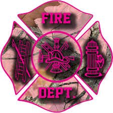 Pink Camo Firefighter Window Decal Police Fire Ems Viny Graphics Stickers Decals Dkedecals