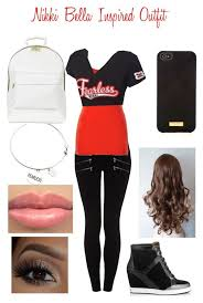 nikki bella inspired outfit by
