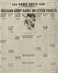 Yuma Sun Newspaper Archives, Jan 2, 1943, p. 1