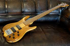 Ken Smith Bass 2000 Tiger Maple Bass For Sale Plektrum